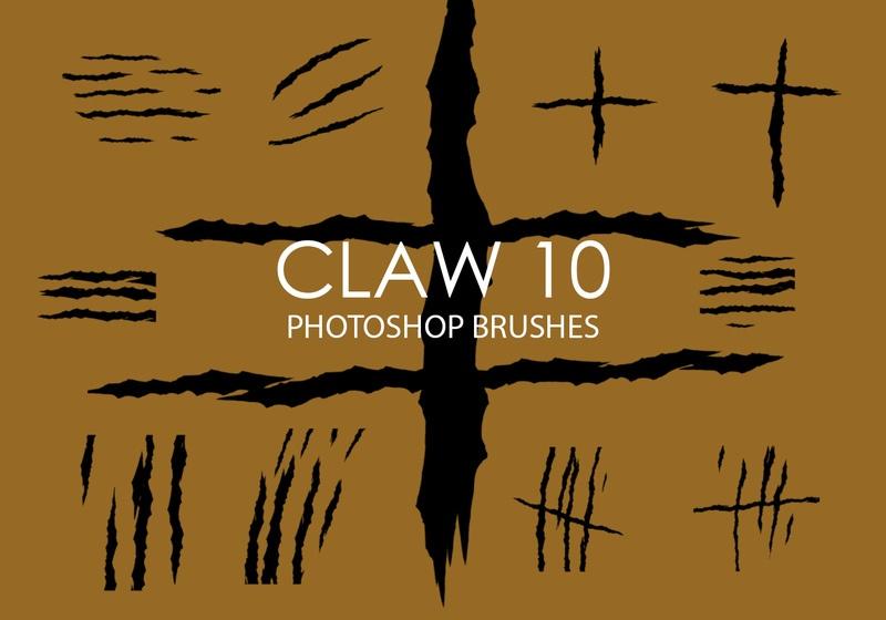 Free Claw Photoshop Brushes 10 Photoshop brush