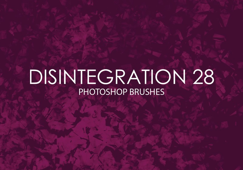 Free Disintegration Photoshop Brushes 28 Photoshop brush