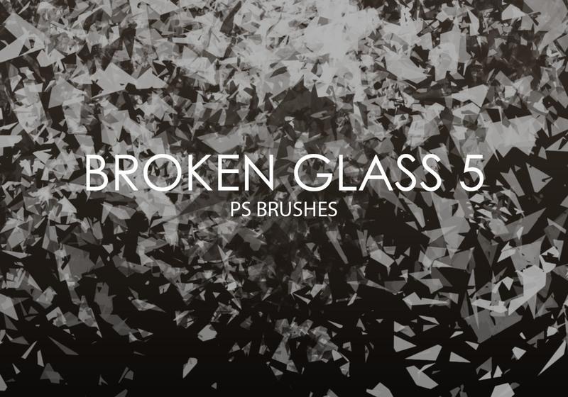 Free Broken Glass Photoshop Brushes 5 Photoshop brush