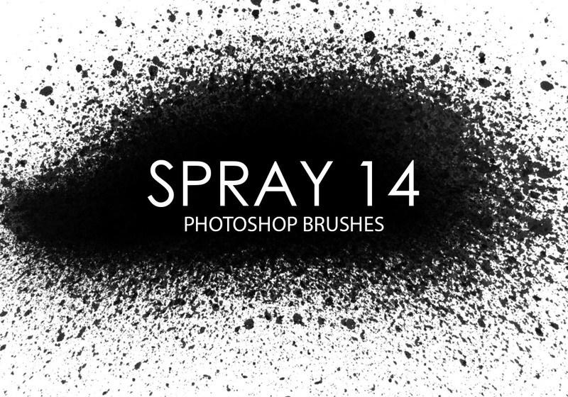 Free Spray Photoshop Brushes 12 Photoshop brush