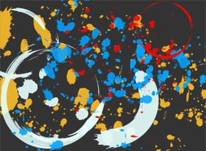 Splatters and Stains Photoshop Brushes Photoshop brush