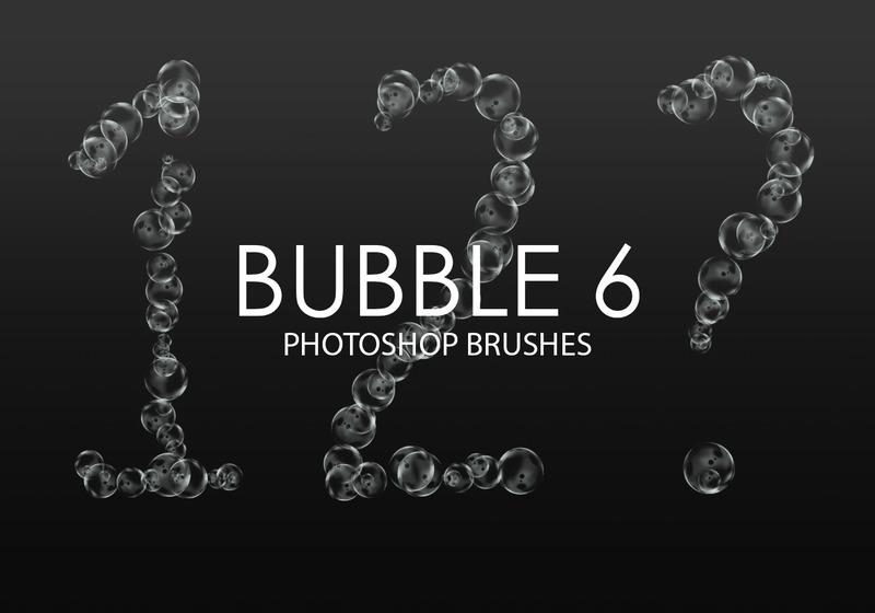 Free Bubble Photoshop Brushes 6 Photoshop brush
