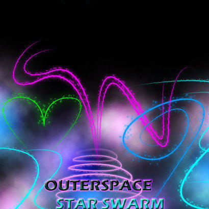 Outerspace Starswarm Photoshop brush