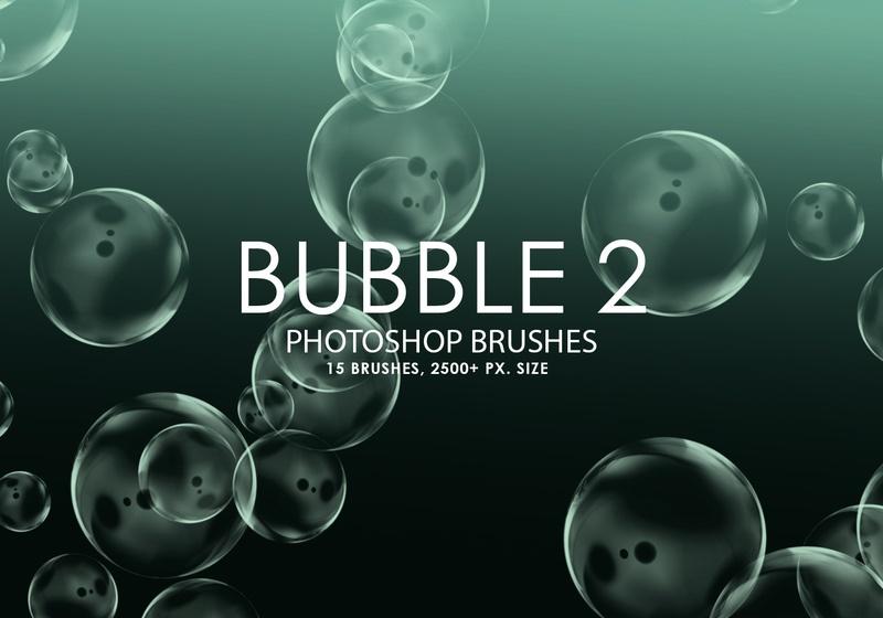 Free Bubble Photoshop Brushes 2 Photoshop brush