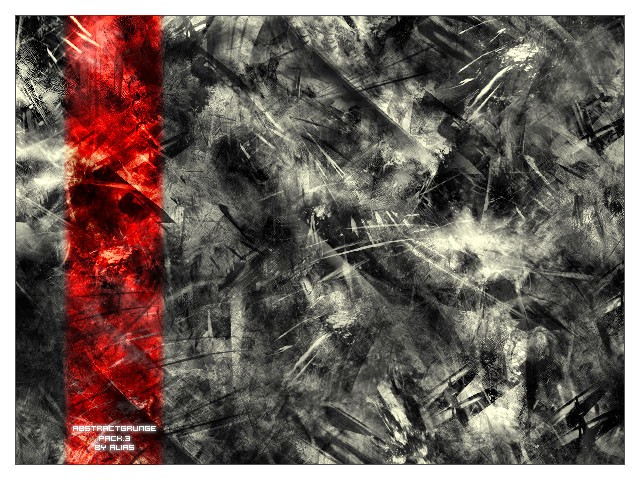 Abstract Grunge Pack 3 Photoshop brush
