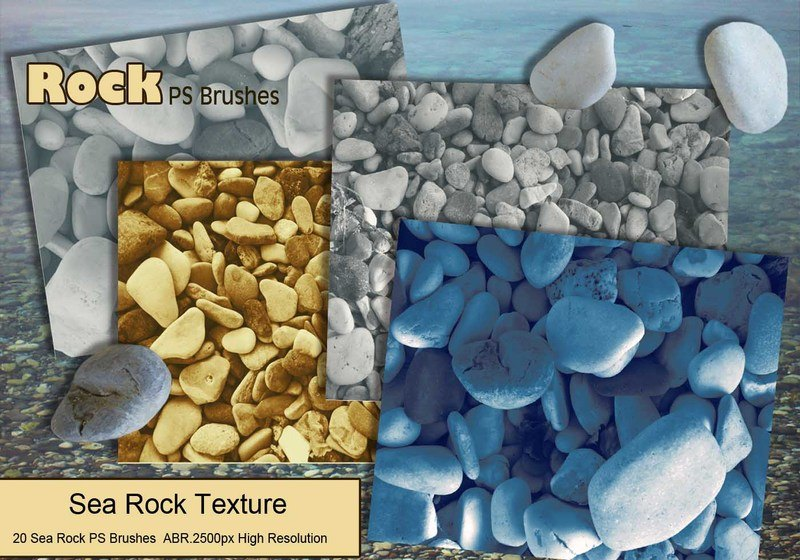 Sea Rock PS Brushes abr. Photoshop brush