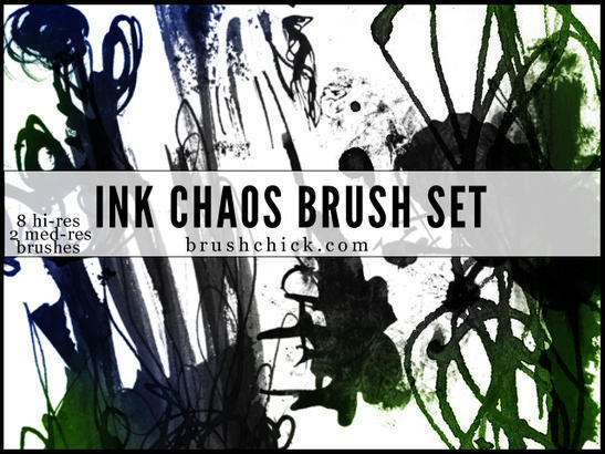 Ink Brush Pack Photoshop brush