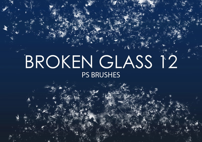 Free Broken Glass Photoshop Brushes 12 Photoshop brush