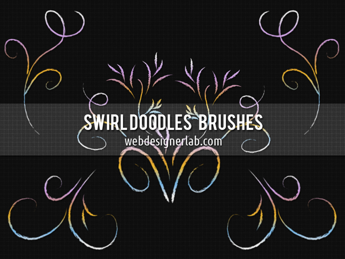 Swirl Doodles Photoshop brush