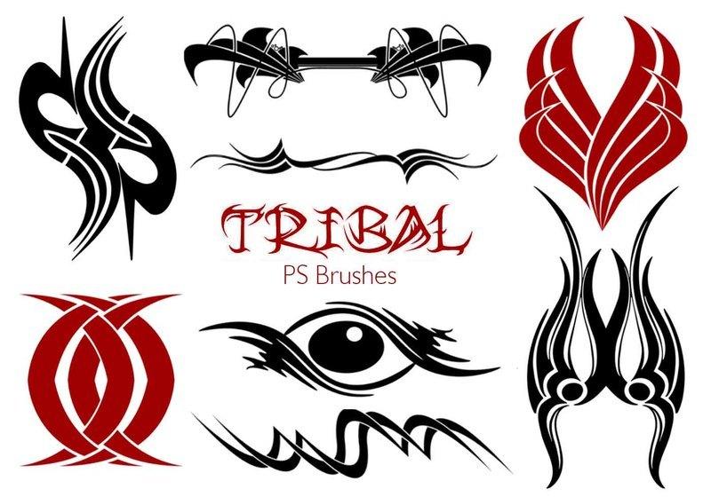 20 Tribal PS Brushes Vol.20 Photoshop brush