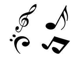 Free Modern Music Notes Brushes Photoshop brush