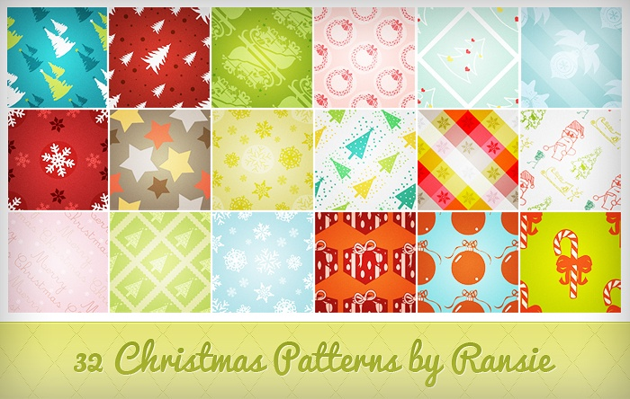 Christmas Patterns Photoshop brush
