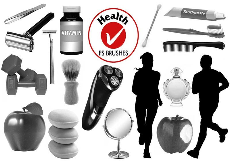 20 Health PS Brushes abr. Vol.2 Photoshop brush