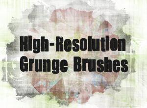 Detailed Grunge Brush Pack Photoshop brush
