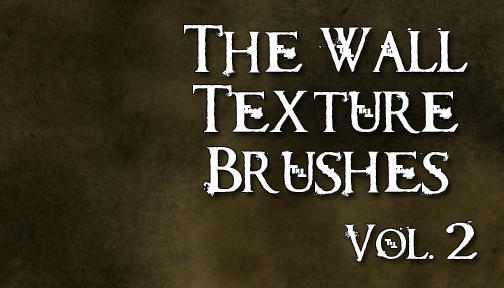 The Wall Texture Brushes Vol 2 Photoshop brush