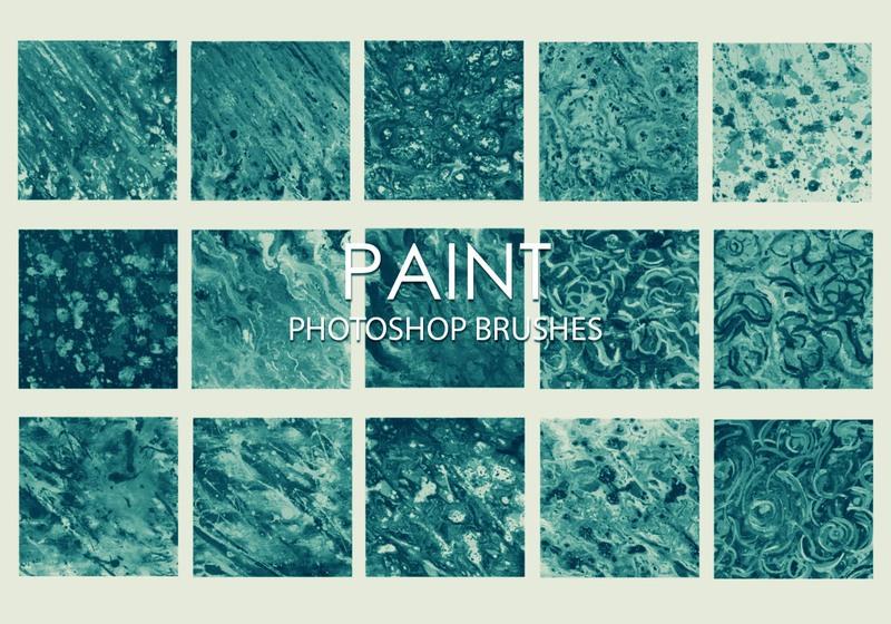 Free Dirty Paint Photoshop Brushes Photoshop brush