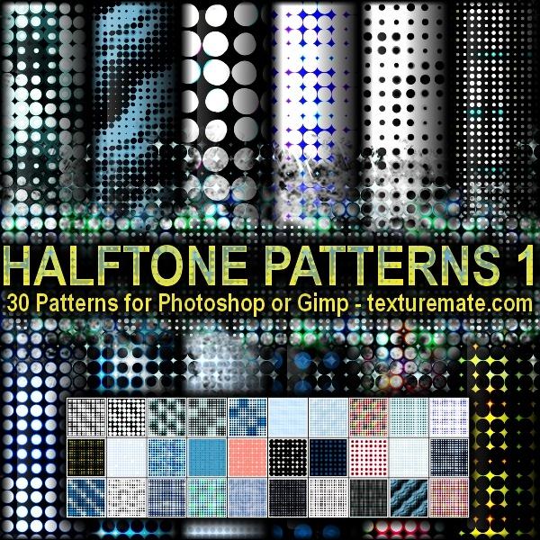 Halftone Patterns 1 Photoshop brush