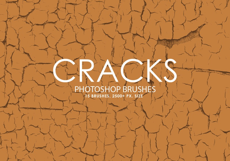 Free Cracks Photoshop Brushes Photoshop brush