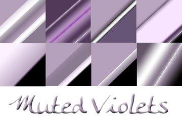 Muted Violets Photoshop brush