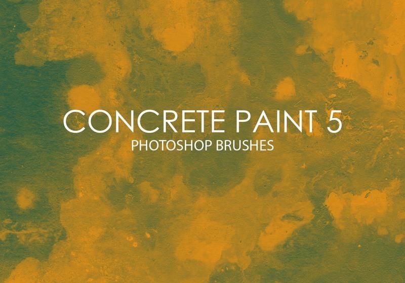 Free Concrete Paint Photoshop Brushes 5 Photoshop brush