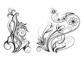 Free Ornamental Swirl Brushes Photoshop brush