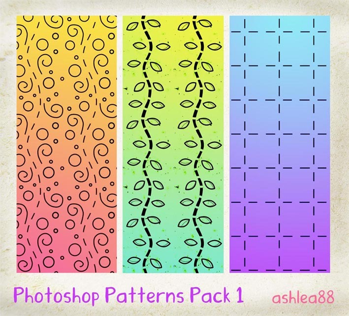 PS Patterns Pack 1 Photoshop brush