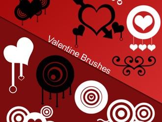 Valentine Brushes Photoshop brush