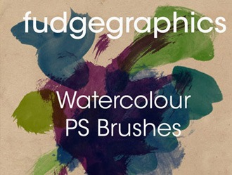 Watercolour Brushes Photoshop brush