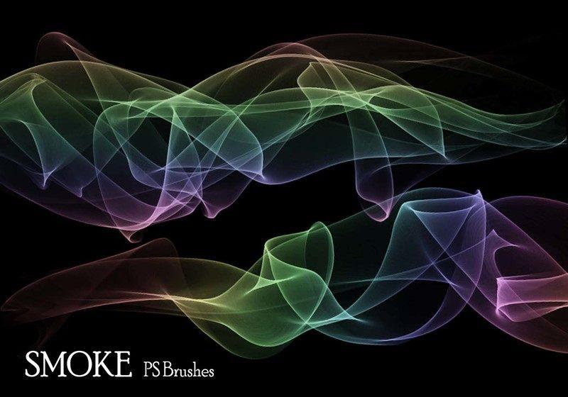 20 Smoke PS Brushes abr. Vol.8 Photoshop brush