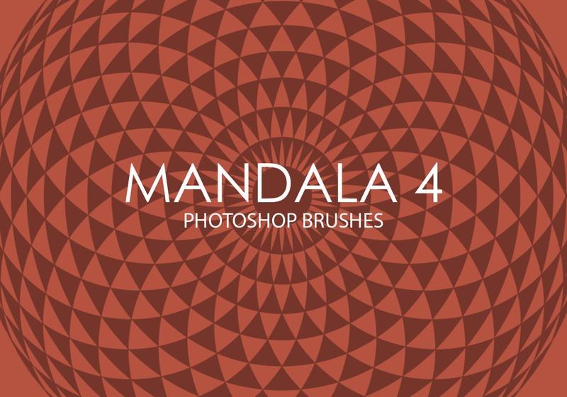 Free Mandala Photoshop Brushes 4 Photoshop brush