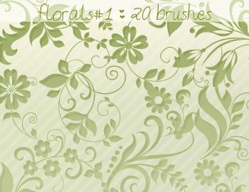 Floral Brushes 1 Photoshop brush