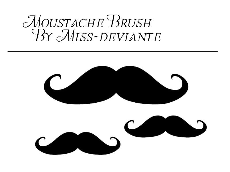 Mustache Brush Photoshop brush
