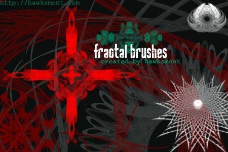 Fractal Brushes Photoshop brush