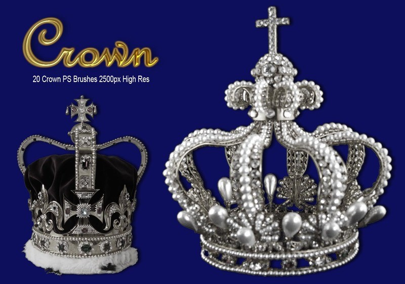 Crown PS Brushes Photoshop brush