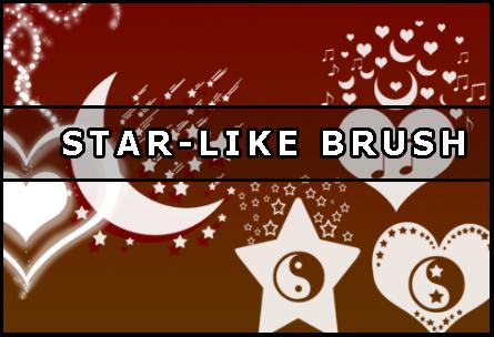 Star Photoshop brush