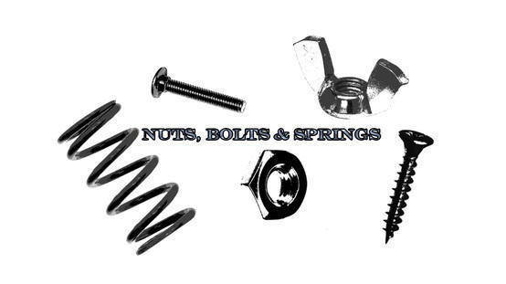 Nuts, Bolts & Springs Photoshop brush