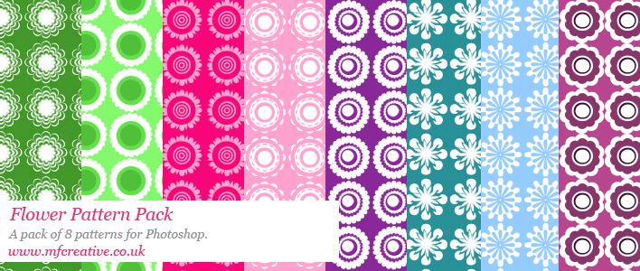 Flower Pattern Pack Photoshop brush