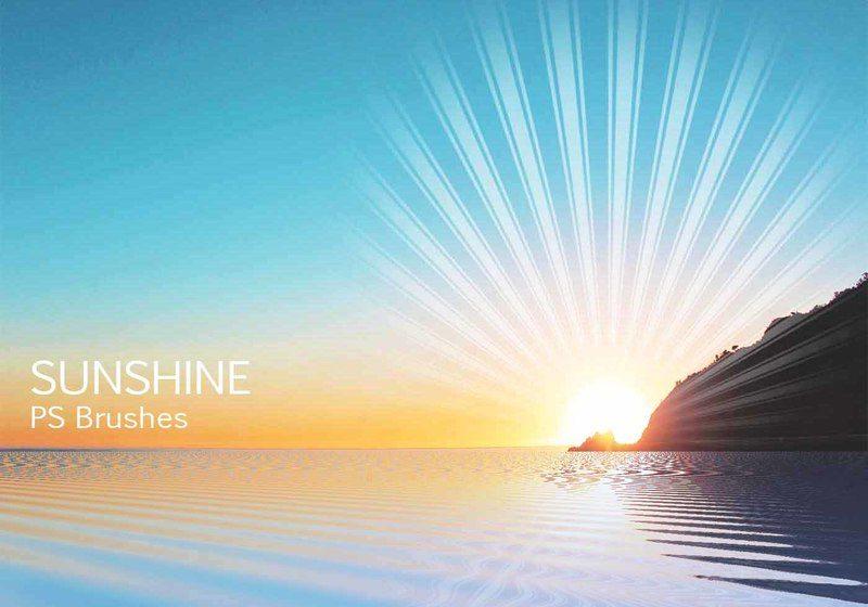 20 Sunshine PS Brushes abr Vol.10 Photoshop brush