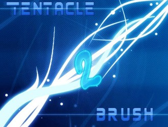 Tentacle Brush Photoshop brush