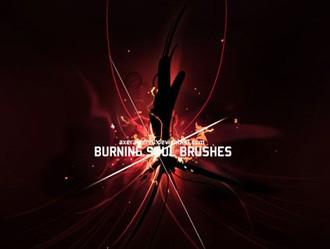 Burning Soul Brushes Photoshop brush