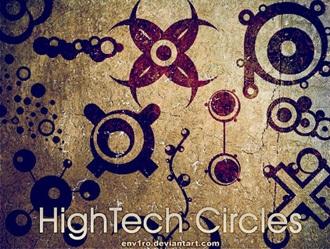 Circles Photoshop brush