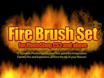Fire Photoshop Brushes Photoshop brush