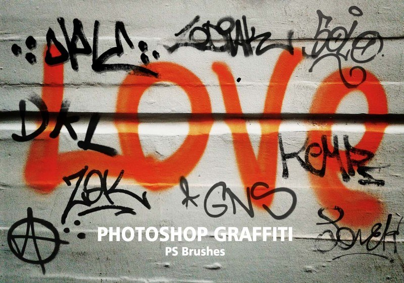 20 Graffiti PS Brushes abr. Vol.4 Photoshop brush