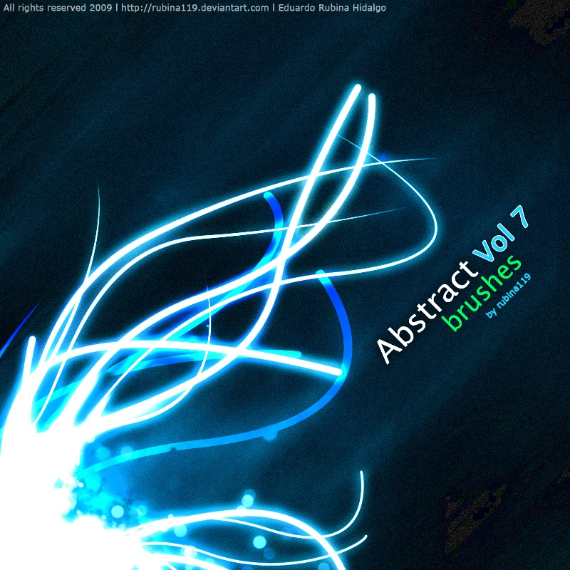 Abstract Brushes VOL 7 Photoshop brush