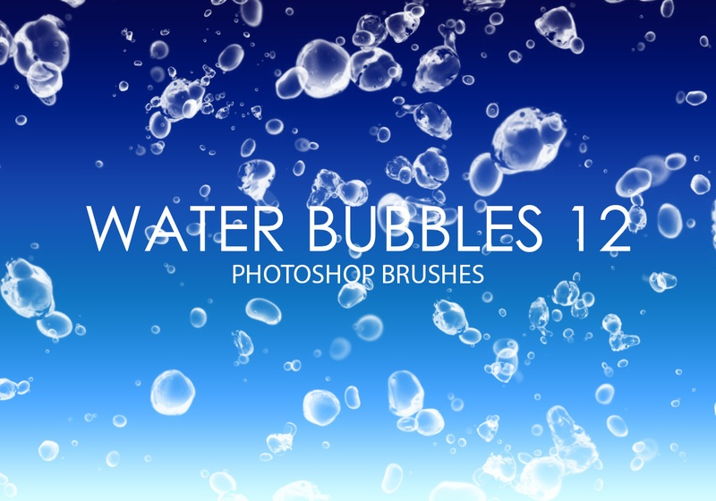 Free Water Bubbles Photoshop Brushes 12 Photoshop brush