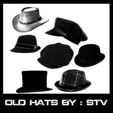 STV  old hats  Photoshop brush