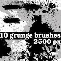 Grunge Photoshop Brushes Photoshop brush