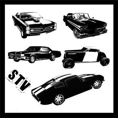 STV Car Brushes Photoshop brush