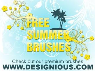 Summer Brushes Photoshop brush