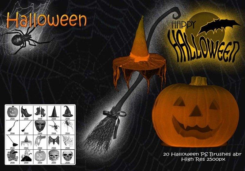 Halloween PS Brushes abr Photoshop brush